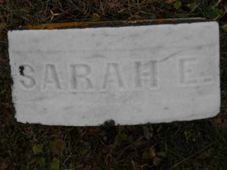 BLAIR, SARAH E - Morrow County, Ohio | SARAH E BLAIR - Ohio Gravestone Photos
