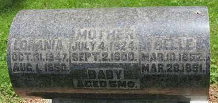 BLOOMFIELD, LORANIA - Morrow County, Ohio | LORANIA BLOOMFIELD - Ohio Gravestone Photos