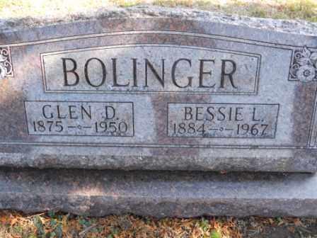 BOLINGER, GLEN D - Morrow County, Ohio | GLEN D BOLINGER - Ohio Gravestone Photos