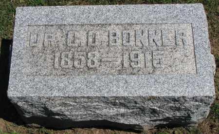 BONNER, DR. C. D. - Morrow County, Ohio | DR. C. D. BONNER - Ohio Gravestone Photos