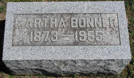 BONNER, MARTHA - Morrow County, Ohio | MARTHA BONNER - Ohio Gravestone Photos