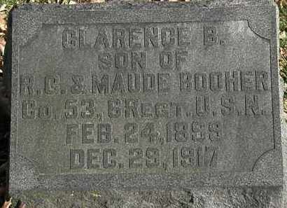 BOOHER, CLARENCE B. - Morrow County, Ohio | CLARENCE B. BOOHER - Ohio Gravestone Photos