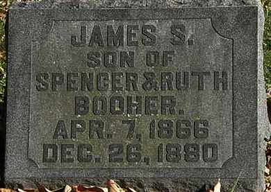 BOOHER, SPENCER - Morrow County, Ohio   SPENCER BOOHER - Ohio Gravestone Photos