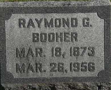 BOOHER, RAYMOND G. - Morrow County, Ohio | RAYMOND G. BOOHER - Ohio Gravestone Photos