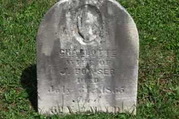 BOWSER, CHARLOTTE - Morrow County, Ohio | CHARLOTTE BOWSER - Ohio Gravestone Photos