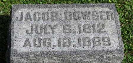 BOWSER, JACOB - Morrow County, Ohio   JACOB BOWSER - Ohio Gravestone Photos