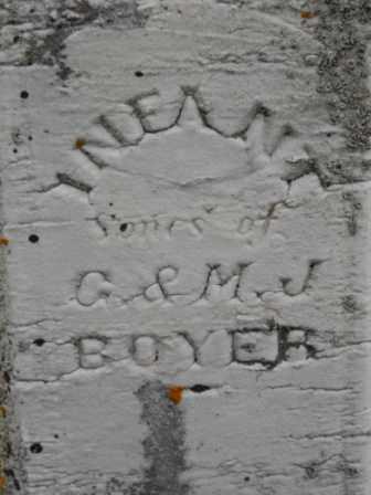 BOYER, INFANT SONS - Morrow County, Ohio   INFANT SONS BOYER - Ohio Gravestone Photos