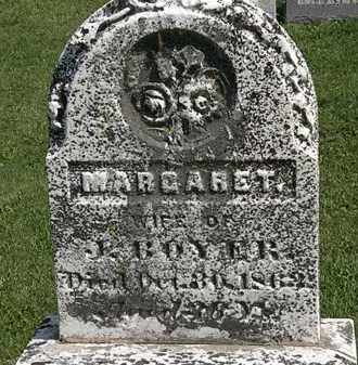 BOYER, MARGARET - Morrow County, Ohio | MARGARET BOYER - Ohio Gravestone Photos