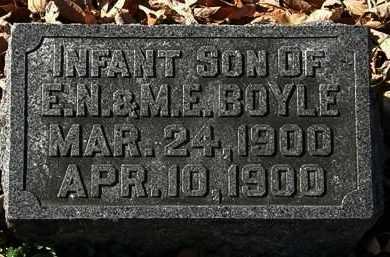 BOYLE, INFANT SON - Morrow County, Ohio | INFANT SON BOYLE - Ohio Gravestone Photos