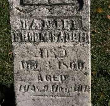 BROOMBAUGH, DANIEL - Morrow County, Ohio | DANIEL BROOMBAUGH - Ohio Gravestone Photos
