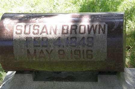 BROWN, SUSAN - Morrow County, Ohio | SUSAN BROWN - Ohio Gravestone Photos