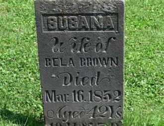 BROWN, BELA - Morrow County, Ohio | BELA BROWN - Ohio Gravestone Photos