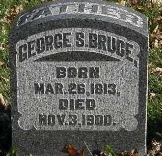 BRUCE, GEORGE S. - Morrow County, Ohio   GEORGE S. BRUCE - Ohio Gravestone Photos