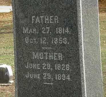 BRUCE, W.M. - Morrow County, Ohio   W.M. BRUCE - Ohio Gravestone Photos