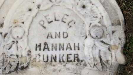 BUNKER, HANNAH - Morrow County, Ohio   HANNAH BUNKER - Ohio Gravestone Photos