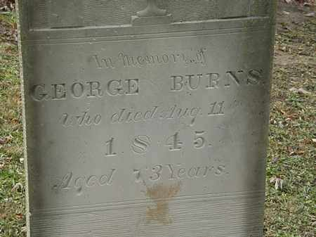 BURNS, GEORGE - Morrow County, Ohio | GEORGE BURNS - Ohio Gravestone Photos
