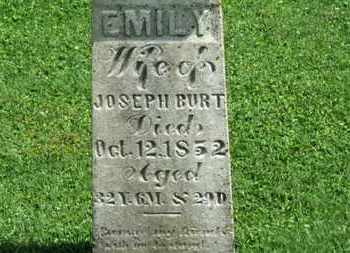 BURT, EMILY - Morrow County, Ohio | EMILY BURT - Ohio Gravestone Photos
