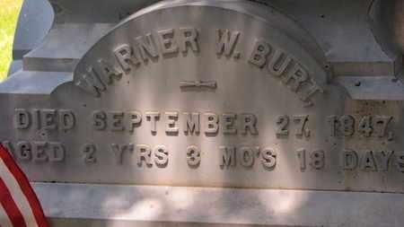 BURT, WARNER W. - Morrow County, Ohio | WARNER W. BURT - Ohio Gravestone Photos
