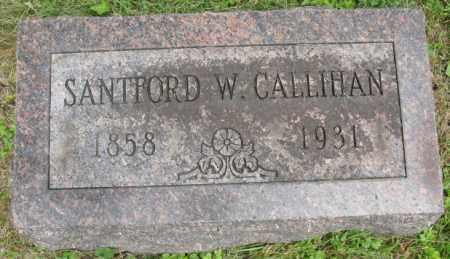 CALLIHAN, SANTFORD - Morrow County, Ohio | SANTFORD CALLIHAN - Ohio Gravestone Photos