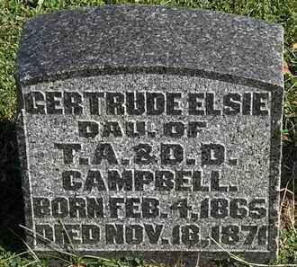 CAMPBELL, GERTRUDE ELSIE - Morrow County, Ohio | GERTRUDE ELSIE CAMPBELL - Ohio Gravestone Photos