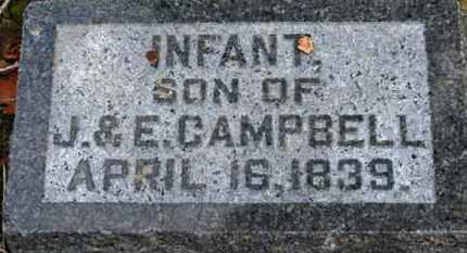 CAMPBELL, INFANT SON - Morrow County, Ohio | INFANT SON CAMPBELL - Ohio Gravestone Photos