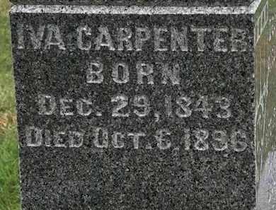 CARPENTER, IVA - Morrow County, Ohio   IVA CARPENTER - Ohio Gravestone Photos