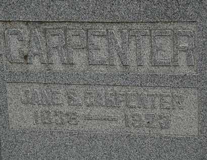 CARPENTER, JANE S. - Morrow County, Ohio | JANE S. CARPENTER - Ohio Gravestone Photos