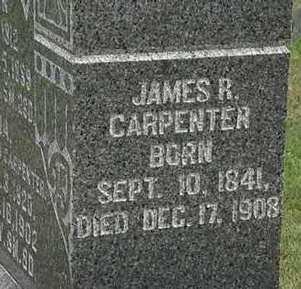 CARPENTER, JAMES R. - Morrow County, Ohio | JAMES R. CARPENTER - Ohio Gravestone Photos