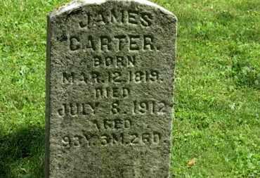 CARTER, JAMES - Morrow County, Ohio | JAMES CARTER - Ohio Gravestone Photos