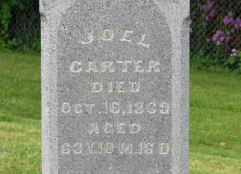 CARTER, JOEL - Morrow County, Ohio | JOEL CARTER - Ohio Gravestone Photos