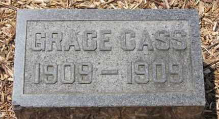 CASS, GRACE - Morrow County, Ohio | GRACE CASS - Ohio Gravestone Photos