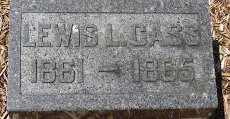 CASS, LEWIS L. - Morrow County, Ohio | LEWIS L. CASS - Ohio Gravestone Photos