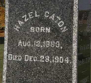 CATON, HAZEL - Morrow County, Ohio   HAZEL CATON - Ohio Gravestone Photos
