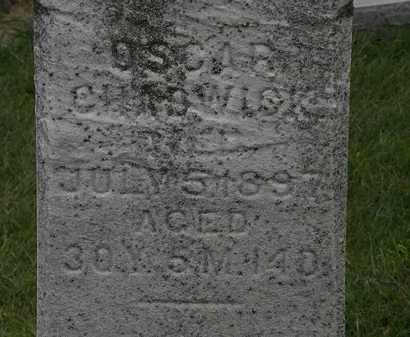 CHADWICK, OSCAR - Morrow County, Ohio | OSCAR CHADWICK - Ohio Gravestone Photos