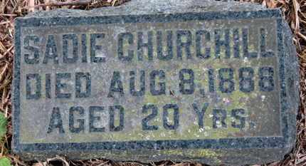CHURCHILL, SADIE - Morrow County, Ohio | SADIE CHURCHILL - Ohio Gravestone Photos