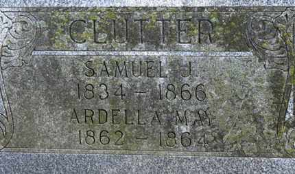 CLUTTER, SAMUEL J. - Morrow County, Ohio | SAMUEL J. CLUTTER - Ohio Gravestone Photos