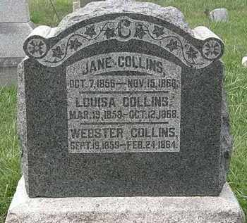 COLLINS, JANE - Morrow County, Ohio | JANE COLLINS - Ohio Gravestone Photos