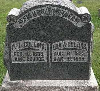 COLLINS, P.T. - Morrow County, Ohio | P.T. COLLINS - Ohio Gravestone Photos
