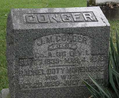 CONGER, RACHEL DOTY - Morrow County, Ohio | RACHEL DOTY CONGER - Ohio Gravestone Photos