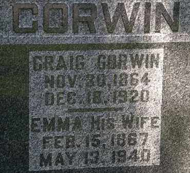 CORWIN, CRAIG - Morrow County, Ohio | CRAIG CORWIN - Ohio Gravestone Photos