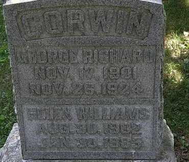 CORWIN, HELEN - Morrow County, Ohio | HELEN CORWIN - Ohio Gravestone Photos