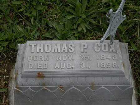 COX, THOMAS P. - Morrow County, Ohio | THOMAS P. COX - Ohio Gravestone Photos