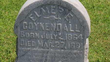 COYKENDALL, ELMER E. - Morrow County, Ohio | ELMER E. COYKENDALL - Ohio Gravestone Photos