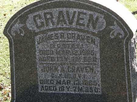 CRAVEN, JAMES R. - Morrow County, Ohio | JAMES R. CRAVEN - Ohio Gravestone Photos