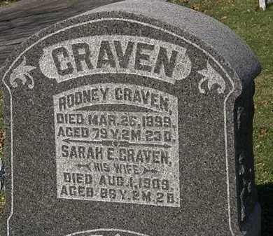 CRAVEN, RODNEY - Morrow County, Ohio | RODNEY CRAVEN - Ohio Gravestone Photos