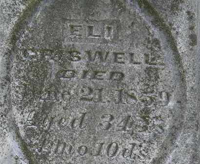 CRISWELL, ELI - Morrow County, Ohio | ELI CRISWELL - Ohio Gravestone Photos