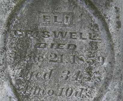 CRISWELL, ELI - Morrow County, Ohio   ELI CRISWELL - Ohio Gravestone Photos