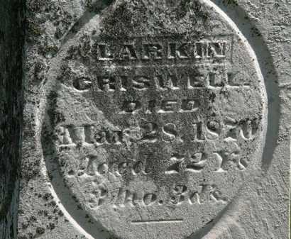 CRISWELL, LARKIN - Morrow County, Ohio   LARKIN CRISWELL - Ohio Gravestone Photos
