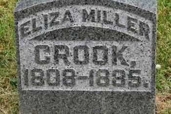 CROOK, ELIZA - Morrow County, Ohio | ELIZA CROOK - Ohio Gravestone Photos