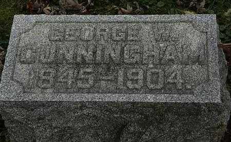 CUNNINGHAM, GEORGE W. - Morrow County, Ohio | GEORGE W. CUNNINGHAM - Ohio Gravestone Photos